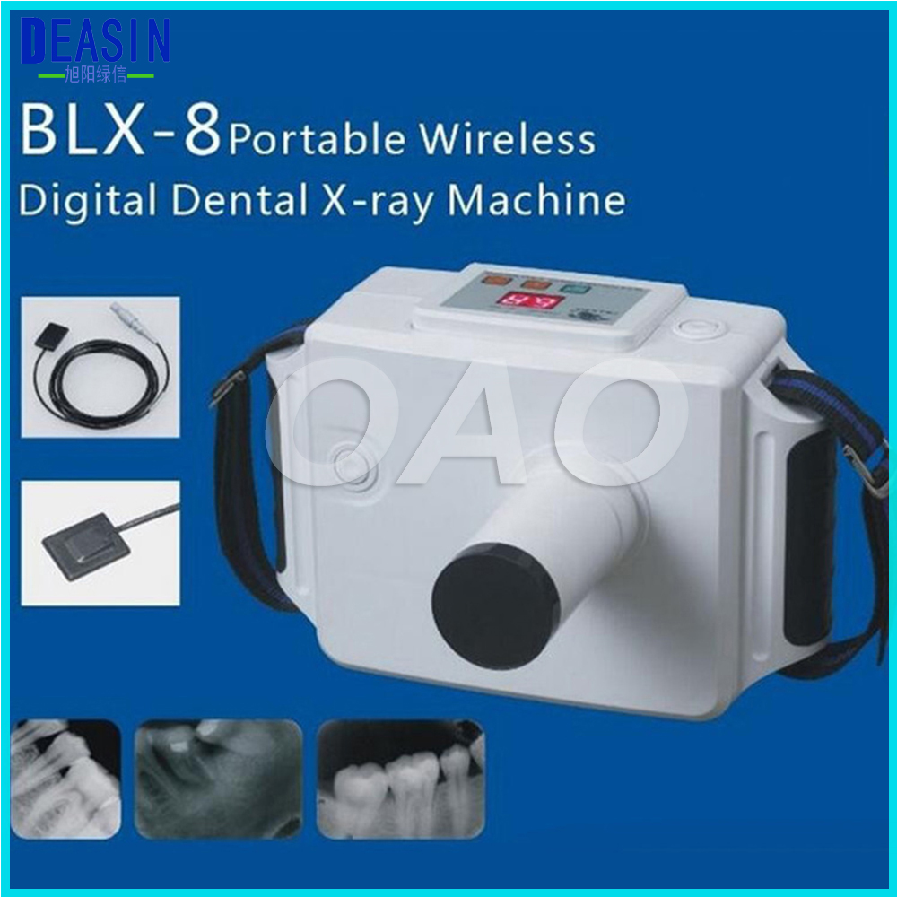 Alta Risoluzione Portatile Dentale Macchina a Raggi X Portatile Fotocamera con Schermo LCD Unità Dentale X Ray per Clinica Odontoiatrica e ospedale