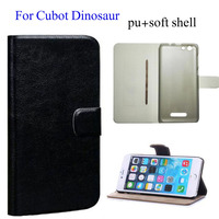 Wholesale Price New Styles Flip PU Leather Cover Case For Cubot Dinosaur Original Cell Phone Shell