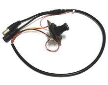 HD 1080p 2MP AHD CVI TVI Hybrid CCTV camera module SONY IMX323 PCB board Security + lens