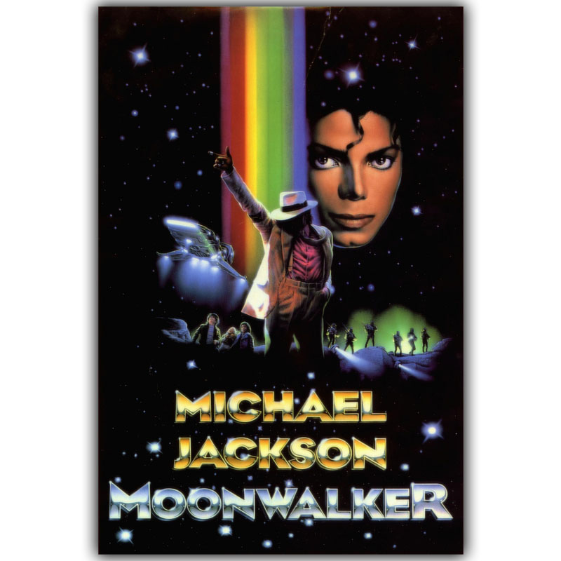 Moonwalker Michael Jackson Posters For Home Decoration Art Silk Canvas Fabric Print Poster DY1176