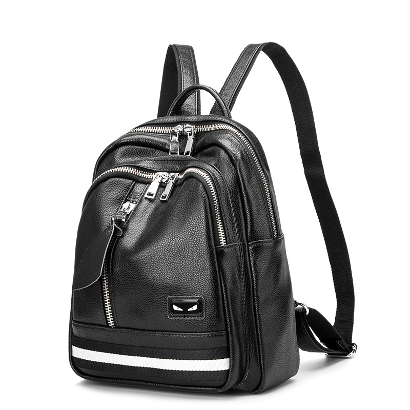 Fashion Women Backpack High Quality Genuine Leather Backpacks For Teenage Girls Bags School Shoulder Bag Female