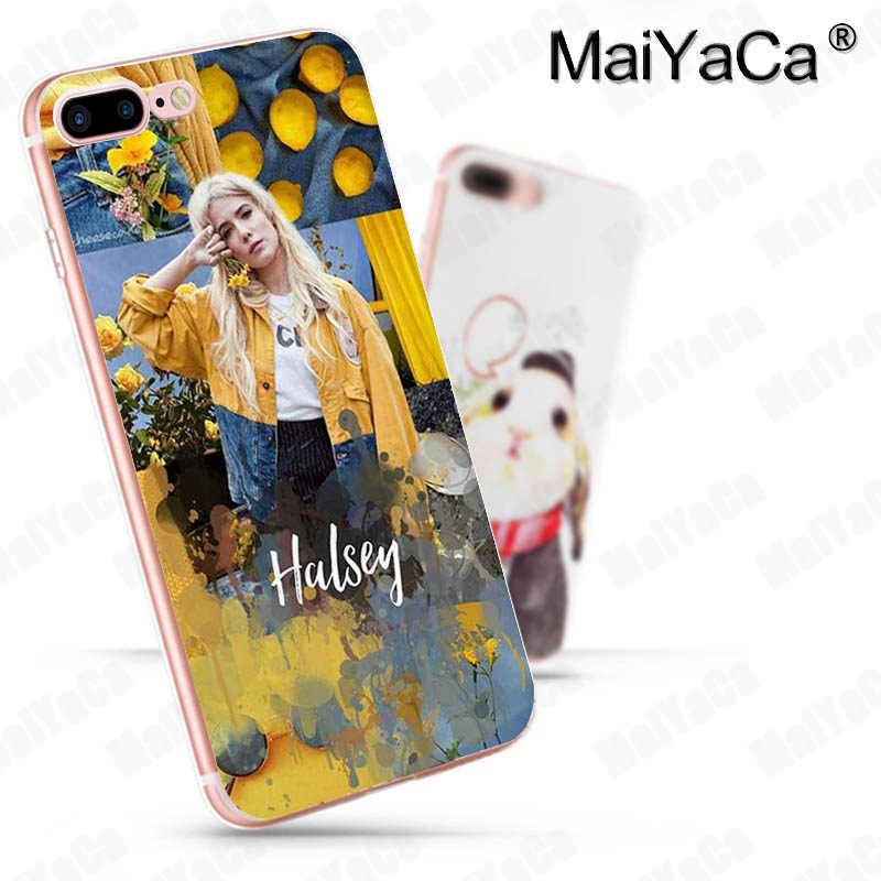 MaiYaCa Halsey Renk Şarkı Sözleri Badlands için Yüksek Kalite telefon kapak iphone 11 pro 8 7 66S Artı X 5S SE XR XS XS MAX