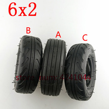 """Câmara de ar pneumática do pneu 6x2, sólido, 6x2, para cadeira, roda, scooter elétrico, uso, 6 """", pneu carrinho pneumático f0"""