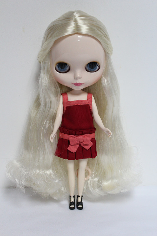Free Shipping Top discount 4 COLORS BIG EYES DIY Nude Blyth Doll item NO. 14 Doll limited gift special price cheap offer toy no 14 925 diy fb 4