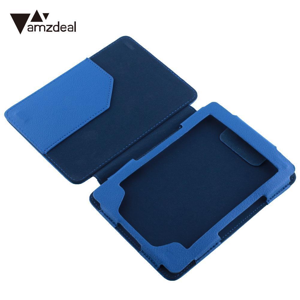 Capa Para Amazon Kindle 4/5 Caso Tablet Couro PU Capa de Proteção Tablet Smart Cover Acessórios À Prova de Choque Durável