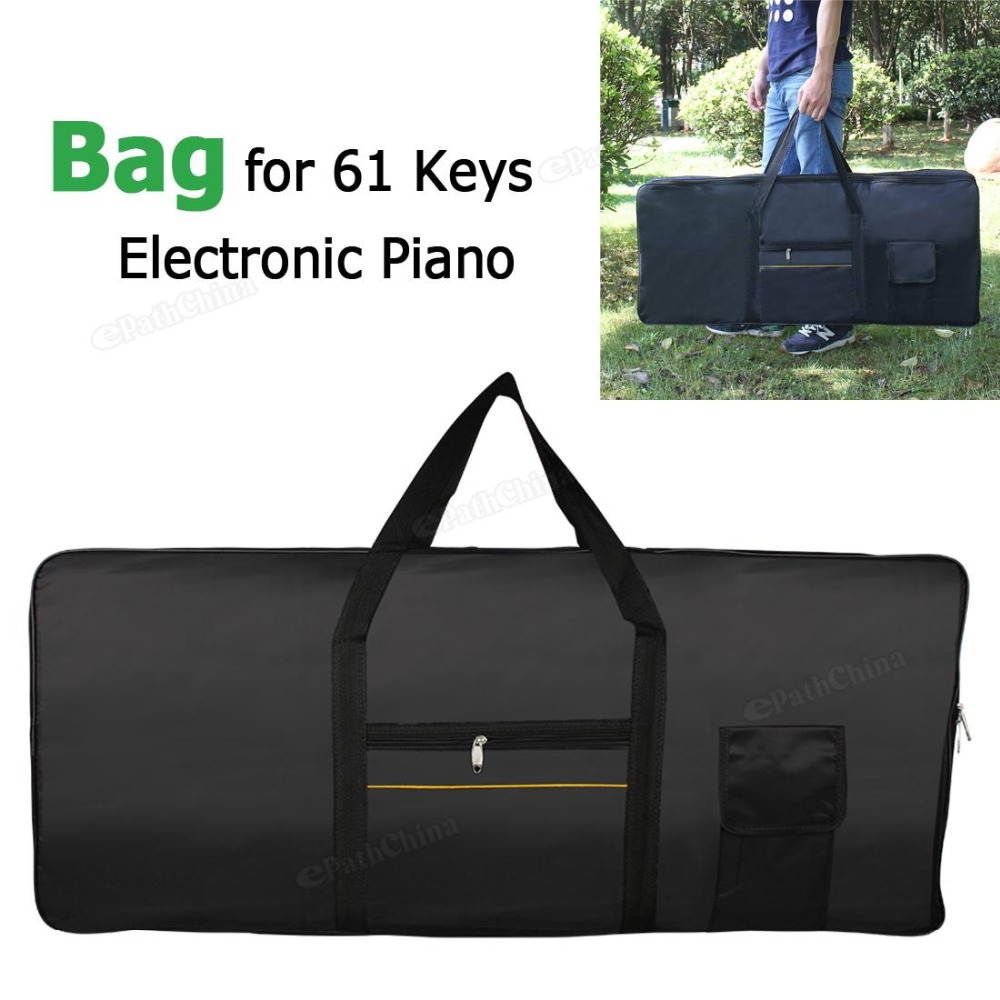 Waterproof Portable Oxford Fabric Electronic Organ Bag Case Cover For 61 Keys Keyboard Piano Musical Instruments Accessories