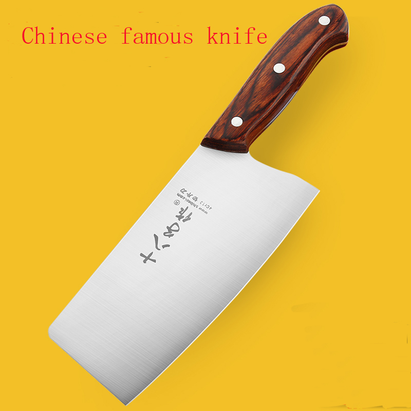 Free Shipping High Quality LD Sharp Chef Knife Full Stainless Steel Cutting Meat Fruit V ...