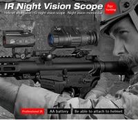 EAGLEEYE  Hunting PVS-14 Night Vision Scope Monocular Device Night Vision Goggles Digital IR Illumination GZ27-0008