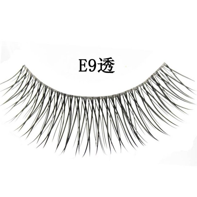 Free shipping,32box/lot [mixed style] high quality factory direct marketing,hand made (10 pairs/box)quality eyelashes (E9A)