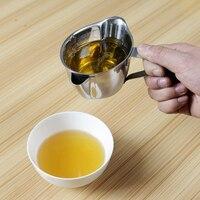 304 нержавеющая сталь фильтр масла 250 мл суп смазки отдельная чаша фильтр масло Творческий Кухня гаджеты жироуловитель