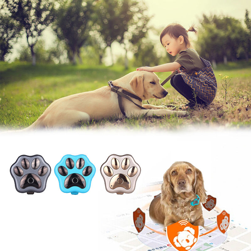 GPS Locator Real Time Tracker Paw for Pets Dogs Cats Elders 2018 Auto Mini Tracking Device Waterproof 3G GPS Tracker GSM WIFI mini gps tracker real time waterproof diy pet dog collars gps tracker life time free platform service charge easy to use