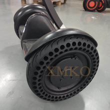 Updated NINEBOT MiniPRO Scooter Solid Hole Tires Double Shock Absorber Xiaomi Mini Non Pneumatic Tyre Damping Rubber Tyres