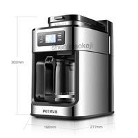 PE3200 Full automatic coffee machine Cafe American machine coffee bean grinder freshly brewed coffee maker 1000w 1pc
