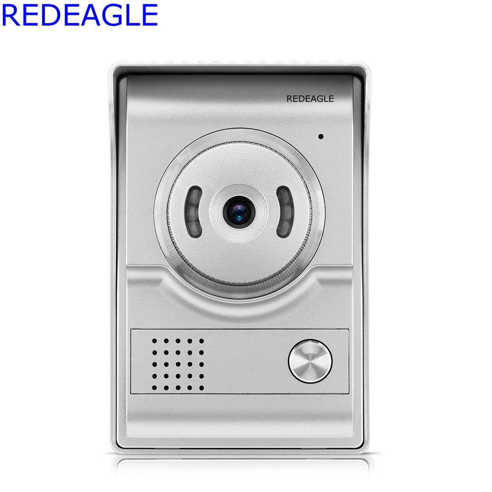 REDEAGLE 700TVL Color Door Phone Camera Outdoor Entrance Machine Unit for 4-wire Video Door phone intercom Access Control System