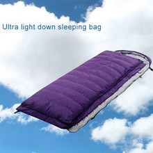 Ultra Light Goose Down Envelope Sleeping Bags Splicing Double Sleeping Bags Outdoor Mountaineering Camping Sleeping Bags недорого