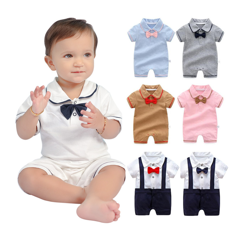 Baby Boys Paper Boats Dungaree Set Spanish Summer Outfit