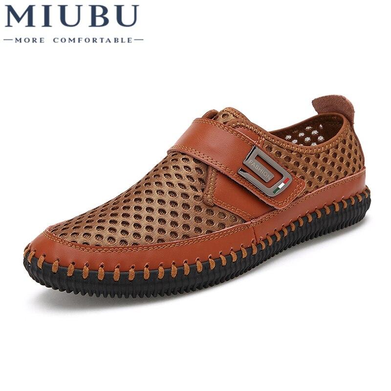 Mocassins Miubu Casual Des À Confortable Hommes Nouveau green Respirant Chaussures gray Mode Conduite De Vente La Brown Chaude Marque qwIAw