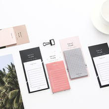 Weekly Monthly List Daily Plan Schedule Planner Memo Pad N Times Sticky Notes Bookmark School Office Supply Student