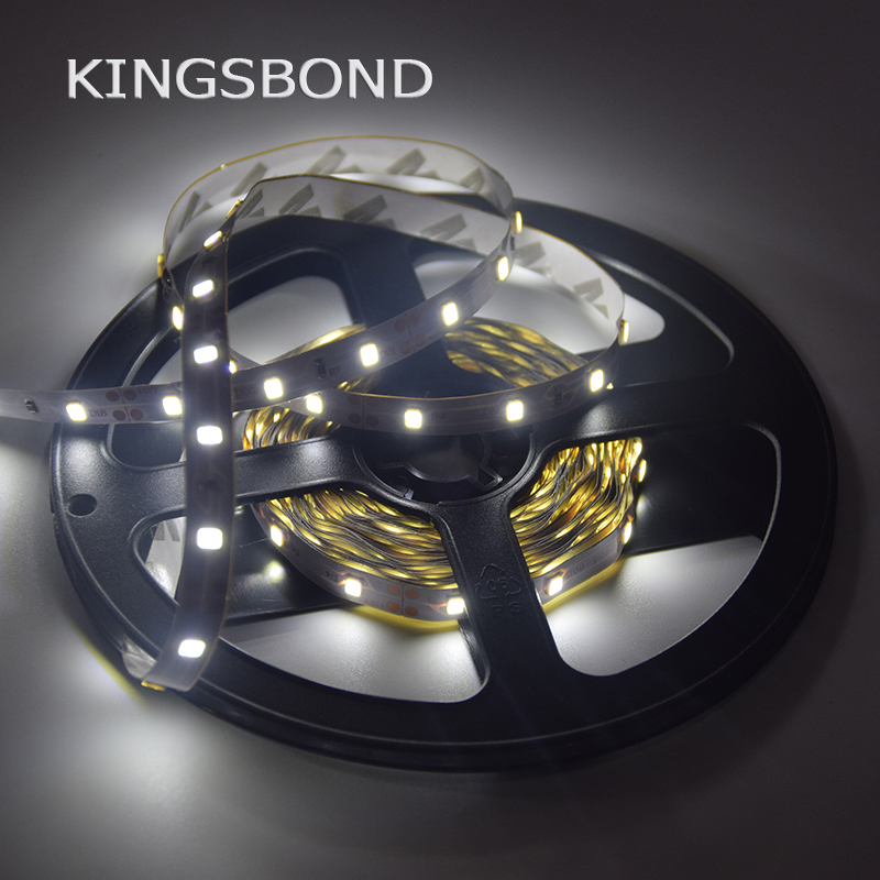 LED Strip 2835 5m 300LEDs (60LEDs/m) Single Color White /warm white Rope Light white or warm white RGB