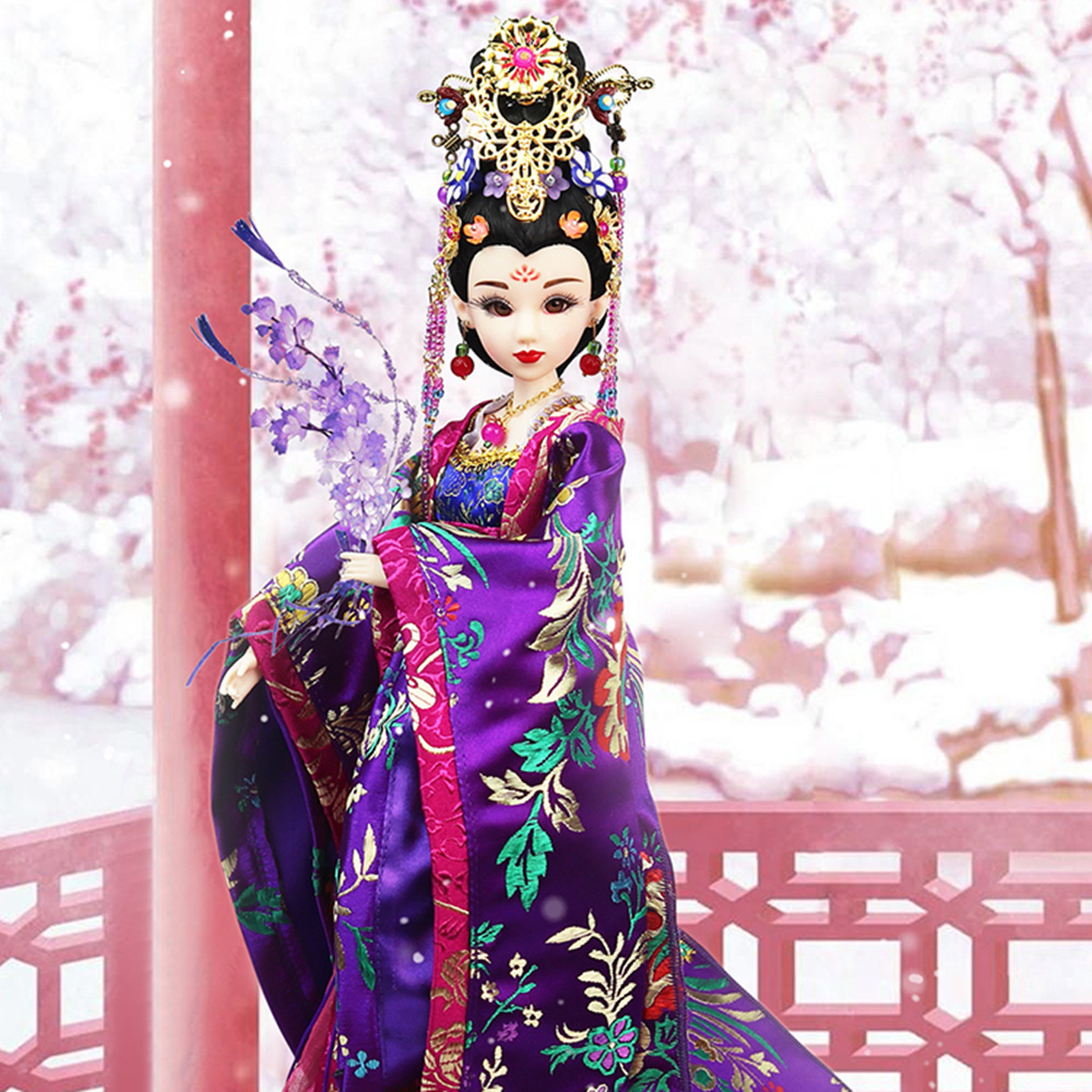 все цены на Fortune Days East Charm doll Ancient China Ziyuan 1/6 like BJD Blyth doll with makeup 14 Joint body High Quality gift онлайн