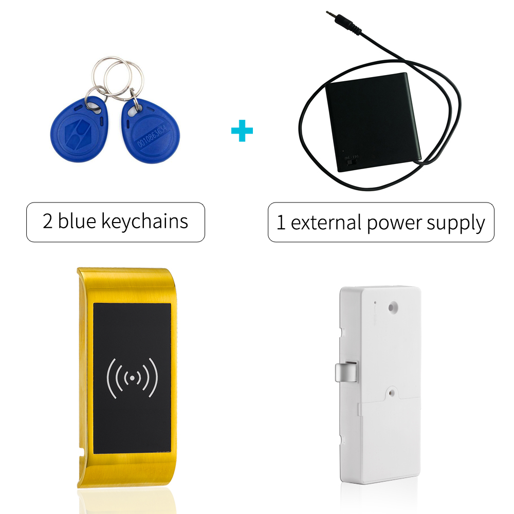 цена 125khz Smart rfid cabinet lock keyless gym locker lock for Metal and wooden cabinet