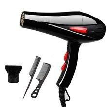 REBUNE 3000 Вт голубой свет анион волос быстрая сушилка для укладки фен AC мотор салон и Домашнее использование с ароматом 220 В