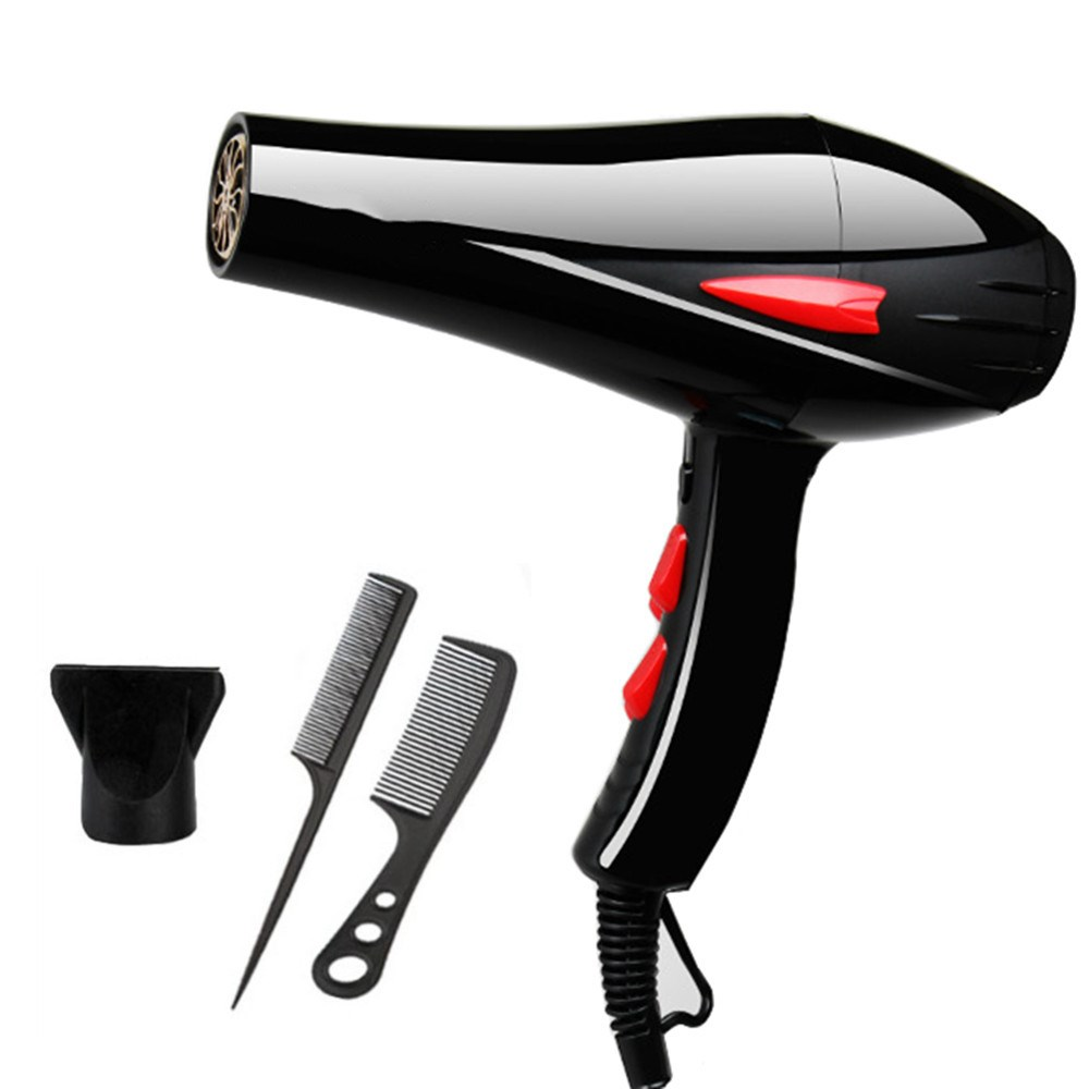 REBUNE 3000W Blue Light Anion Hair Dryer Fast Styling Blow Dryer AC Motor Salon&Home Use With fragrance 220V yaqiang 3000w hair dryer blue light anion ceramic ionic fast styling blow dryer ac motor salon