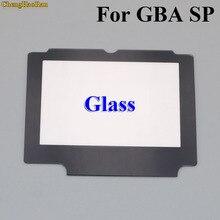 تشنغوهران 5x استبدال الزجاج شاشة LCD عدسة حماية لوحة غطاء إصلاح جزء لنينتندو GBA SP ث/لاصق الشريط