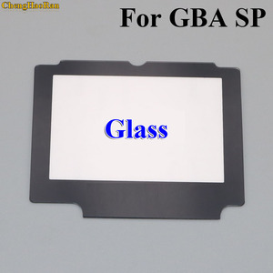 Image 1 - ChengHaoRan 5x Glass Replacement LCD Display Screen Lens Protection Panel Cover Repair part for Nintendo GBA SP W/ Adhesive Tape