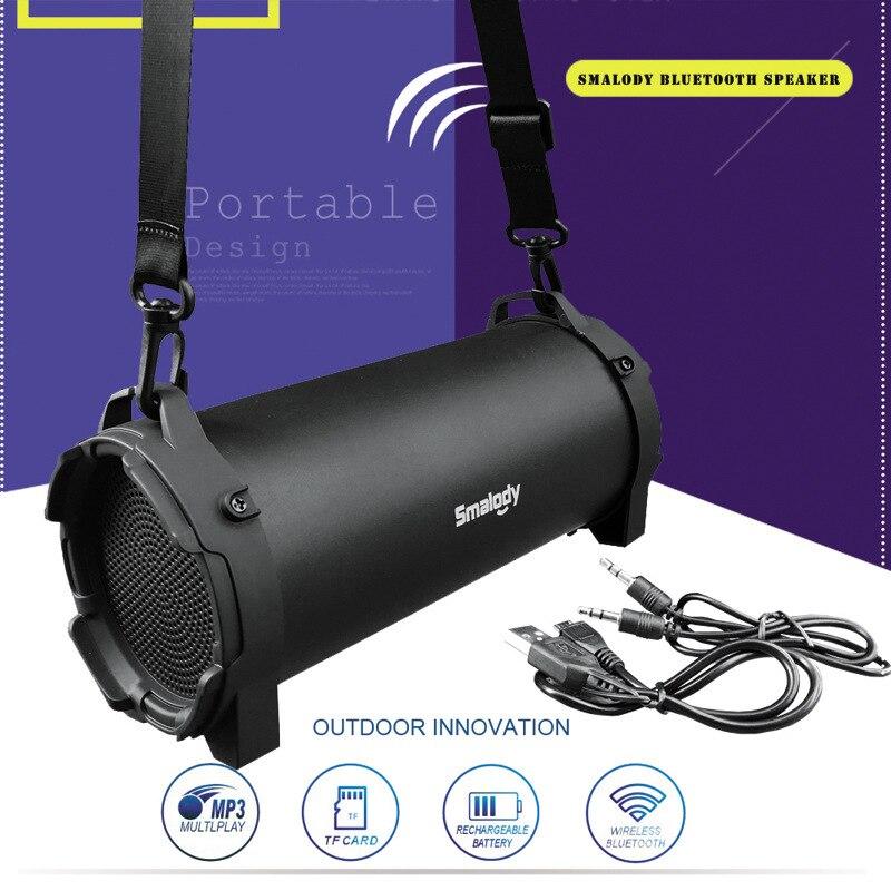 ELE ELEOPTION Колонка Беспроводная Bluetooth Колонка наружный портативный сабвуфер музыкальный стерео мощный спортивный динамик s