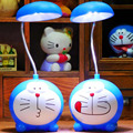 LED Contemporary Table Lamps 110v-220v Child Student Bedroom USB Charger Switch Button Fashion Creative Pink Cat Study Lamp