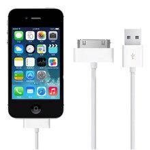 Olhvetra cabo usb de carregamento para celular, cabo para iphone 4 s 4S 3gs 3g ipod nano ipad 2 3 data fio carregador de cabo 30 pinos