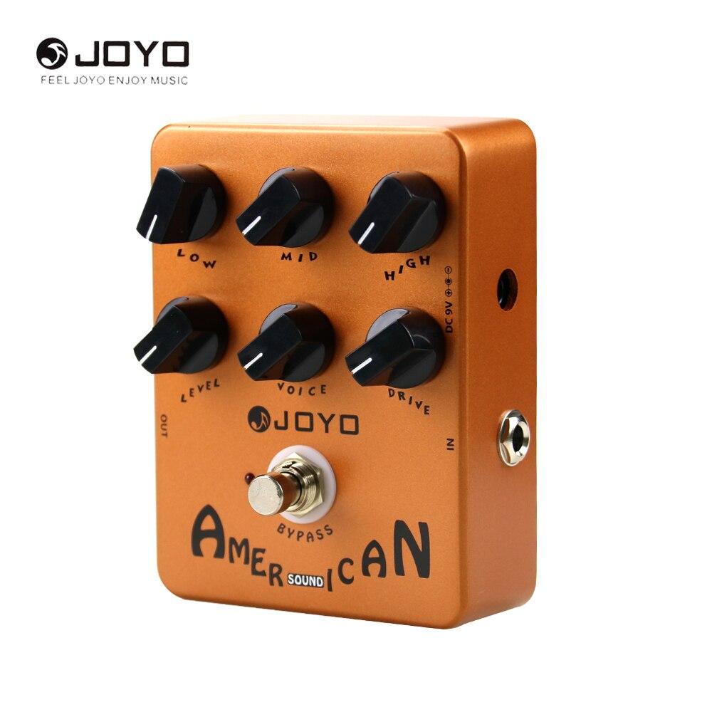 цена на JOYO JF-14 Electric Guitar Effece Pedal American Sound Speaker Simulator JF14