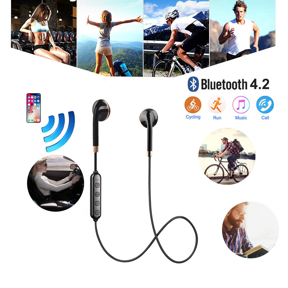 Smart Earphone with Alexa Enabled Voice Control Stream Online Music Bluetooth Technology HiFi Stereo in Ear Earphones L