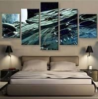 5 панели холст стены искусства картина украшение дома гостиная печать холст картины для гостиной декор груза падения оптовая