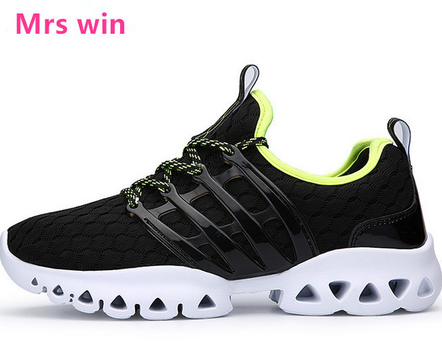 New 2017 men shoes zapatos mesh sne cover breathable white light running shoes women outdoor shock pad Stability shoes hombre