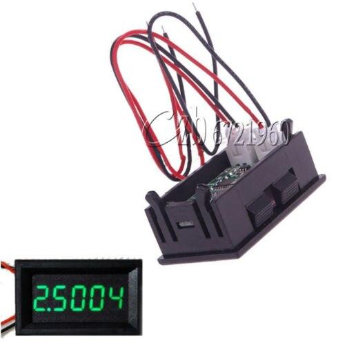 Vert 5 Chiffres DC 0-4.3000-33.000V Précision Numérique voltmètre Tension Panneau