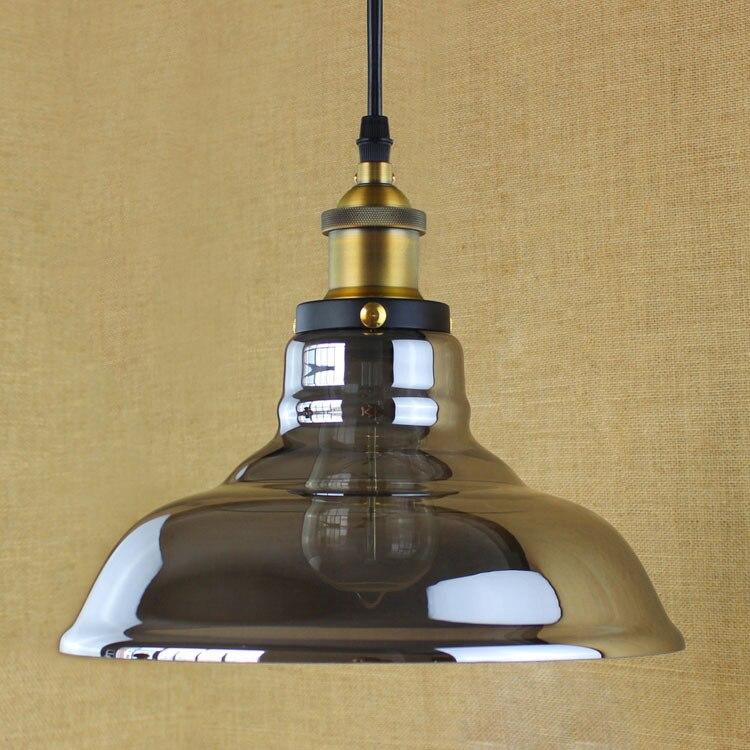 Glass Pendant Lamp Modern Vintage Edison Bulbs Bar Restaurant Bedrooms Large Shopping mall Muuto E27 Art Dining room