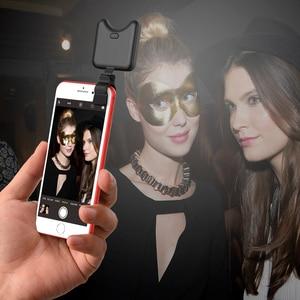 Image 5 - Apexel מיני נייד חצובה חדרגל עם מרחוק Bluetooth ontrol Selfie למלא Led אור עבור iPhone X 7 8 סמסונג נייד טלפון