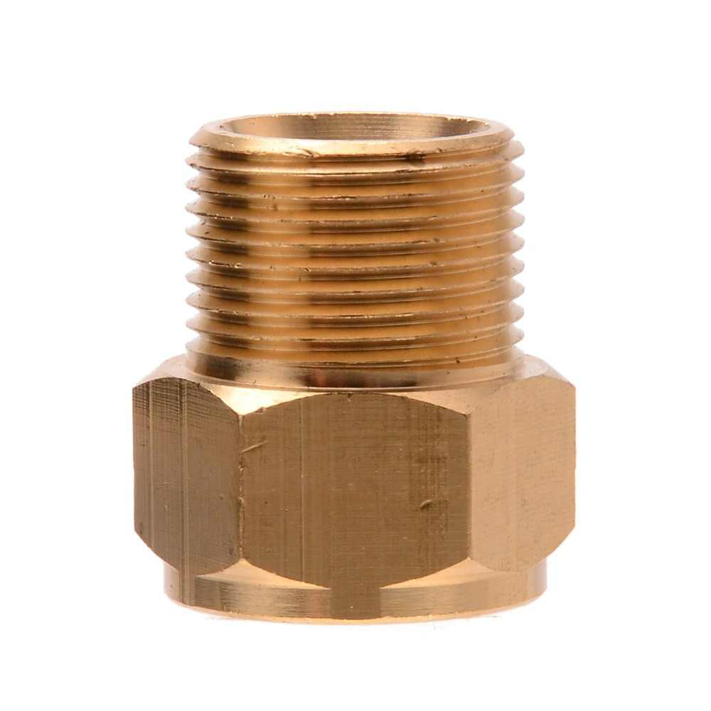 1pc High Pressure Hose Coupling Adapter Connector M22 Male