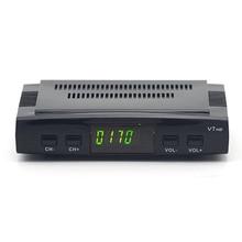 Satellite TV Receiver decoder V7 HD DVB-S2 lnb with 7 lines Europe portugal Spain C-line account support powervu Receptor(EU P freesat v7 hd receptor dvb s2 satellite tv receiver decoder with 7 lines europe spain cccam usb wifi support powervu bisskey