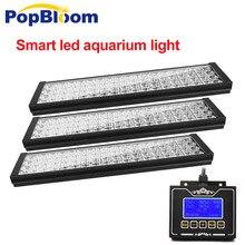 PopBloom программируемое led освещение для аквариума освещение пресноводные растения аквариумных резервуарах acuarios sunrise sunset светодиодные фонари FF7BP3