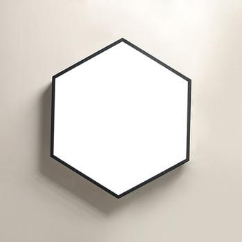TUDA LED Ť�井ランプ錬鉄製の天井ランプリビングルームベッドルームレストランアクリル天井ランプ 220 V