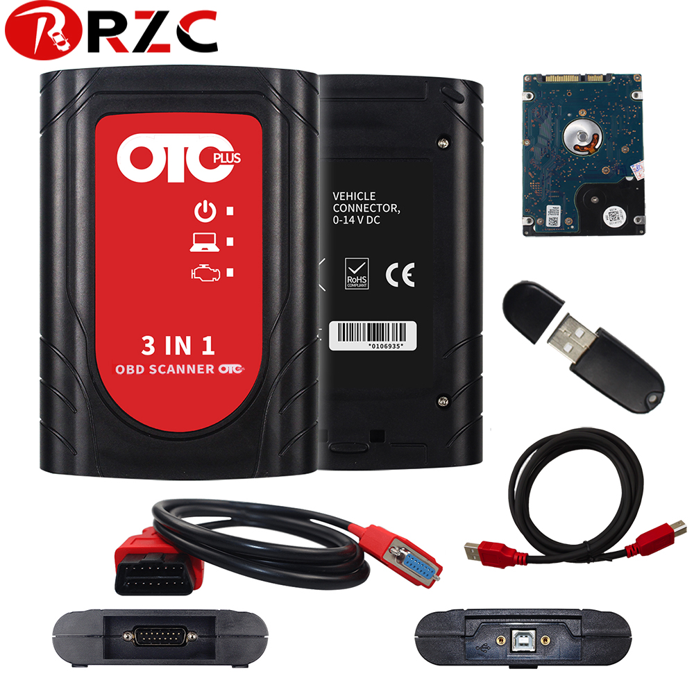 OTC Plus 3 In 1 Diagnostic Tool Newest OBD Scanner Auto Tool For Toyota For nissan