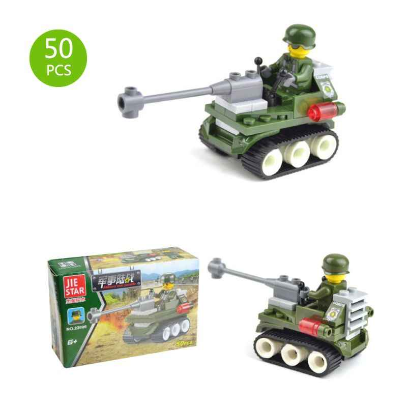 Models 3D Tank Helicopter Simulation Military 50 Pieces DIY Vehicles Parts