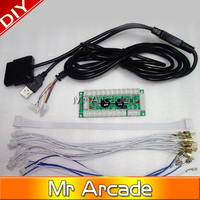 Zero Delay Arcade USB Encoder Play Station PC PS2 PS3 Joystick For Arcade Controllers 2Pin Rocker