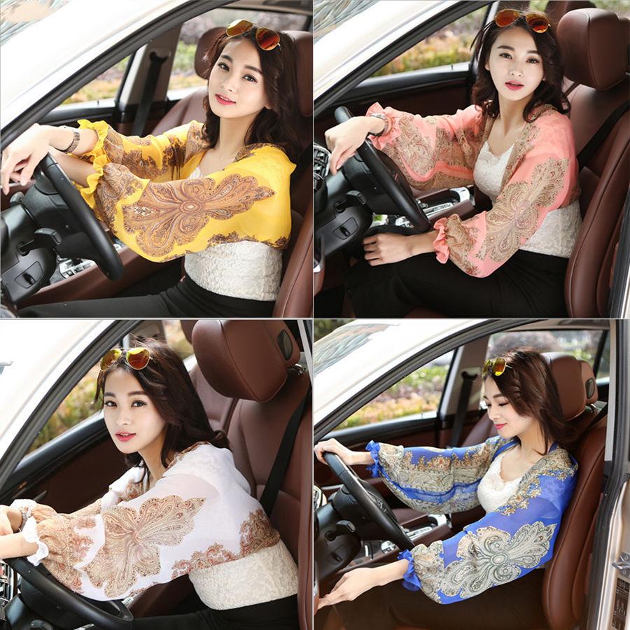 New Women Driving Bikini Cover Up Sun UV Protection Shawl Wrap Tippet Clothing