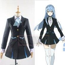 Anime Kiznaiver Noriko Sonozaki Cosplay Traje de Uniforme Escolar