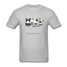 Home Wear Bull Terrier Cartoon Design T-