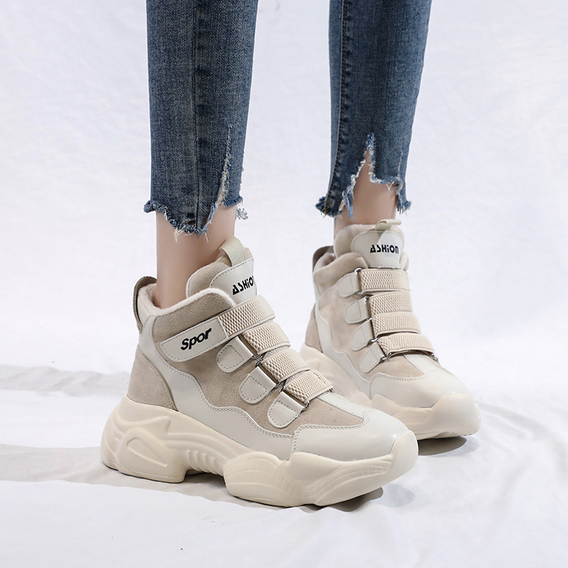 Chaussures Style Nouveau Rapide Bottes D'hiver Beige Qualité Chaude Fille Casual La black Fourrure Neige Boot Marque Mode De Femmes Avec Haute K3 AqnfaqvPw